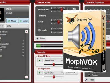 MorphVOX Pro Crack v5.0.20.17938+ Keygen [2021] Free Download